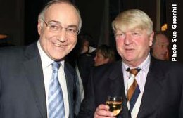 Stanley Johnson with Michael Howard