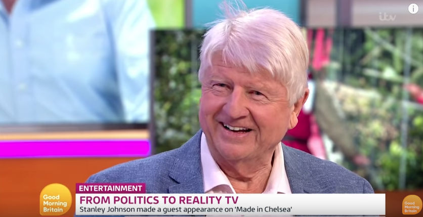 Stanley Johnson on Good Morning Britain